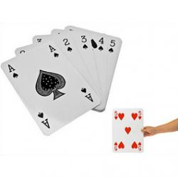 Jeu de Cartes XXL 20 cm