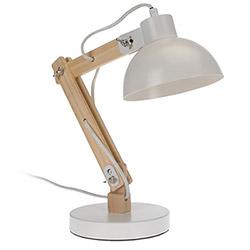 Lampe de Bureau Architecte Bois et Métal