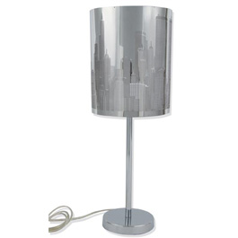 Lampe City New York en Alu Brossé