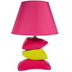 Lampe Galets en couleurs