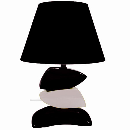 lampe galets couleurs 4 mod les au choix. Black Bedroom Furniture Sets. Home Design Ideas