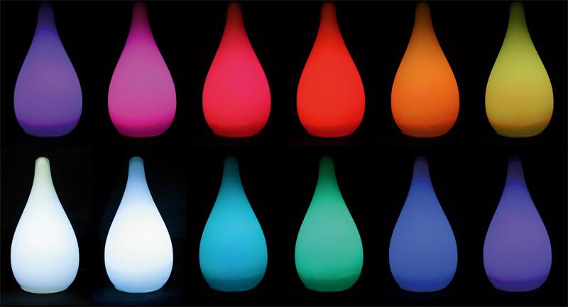 Ikea Eckschrank Schreibtisch ~ Lampe d'ambiance Goutte qui change de couleur