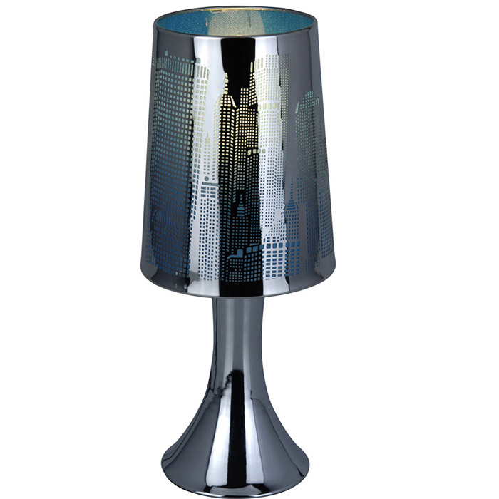 lampe de chevet sensitive tactile 3 intensit s new york. Black Bedroom Furniture Sets. Home Design Ideas