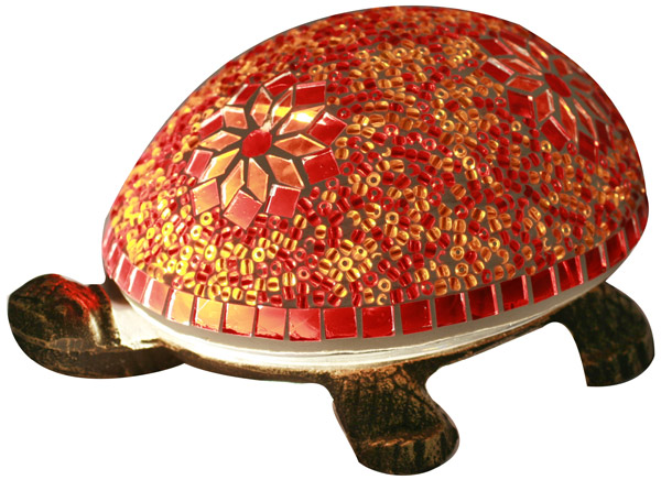 Lampe d 39 ambiance mosa que tortue - Lampe chauffante tortue ...