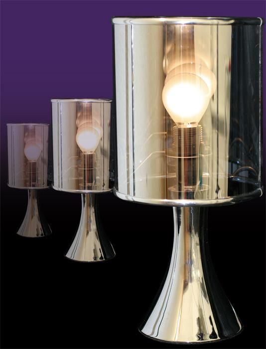 Lampe touch miroir for Lampe miroir