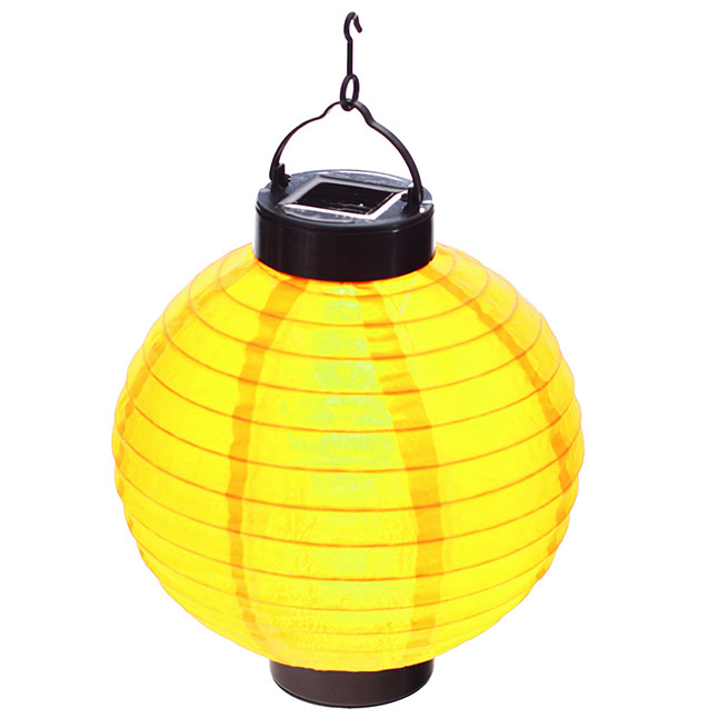 Lanterne solaire lampion led boule chinoise for Lampions exterieur led