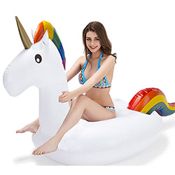 Licorne Gonflable pour Piscine
