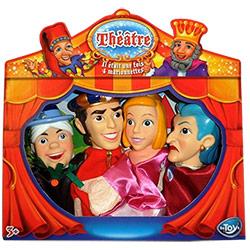 4 Marionnettes Théâtre