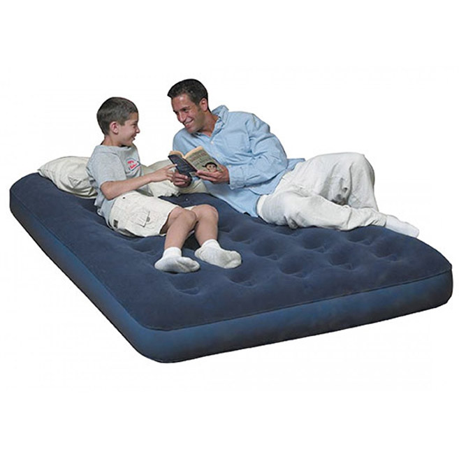 matelas lit gonflable d 39 appoint de 2 places. Black Bedroom Furniture Sets. Home Design Ideas