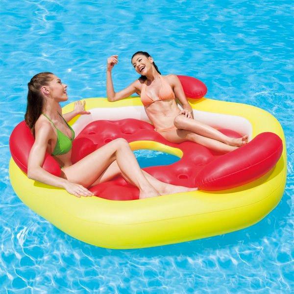matelas fauteuil gonflable pneumatique pour piscine. Black Bedroom Furniture Sets. Home Design Ideas