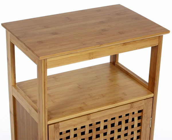 Meuble de salle de bambou en bambou de tr s bonne qualit - Meuble de salle de bain de qualite ...