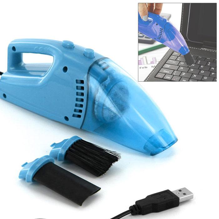 aspirateur usb pour nettoyer clavier de pc ordinateur cran bleu ebay. Black Bedroom Furniture Sets. Home Design Ideas