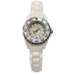 Montre Femme avec Bracelet Silicone
