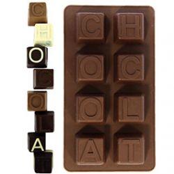 Moule en Silicone Chocolat Mignardises