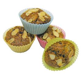 12 moules à Muffin Silicone