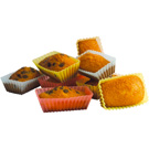 12 moules à Financiers en Silicone