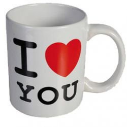 Mug avec Message J'aime, J'aime Pas