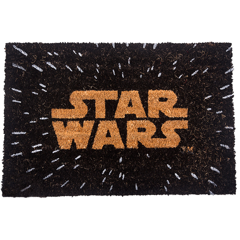 tapis paillasson star wars pour porte d 39 entr e. Black Bedroom Furniture Sets. Home Design Ideas