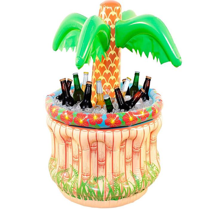 Palmier gonflable rafraichisseur de boisson for Bar gonflable piscine