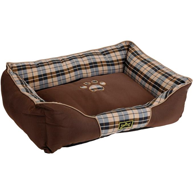 panier pour chien et chat coussin lit corbeille tr s confortable marron. Black Bedroom Furniture Sets. Home Design Ideas