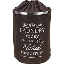 Panier à Linge Deluxe Laundry Chocolat