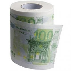 Papier Toilette 100 Euro