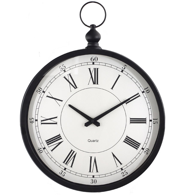 Horloge gousset pour d coration murale - Horloge gousset murale ...