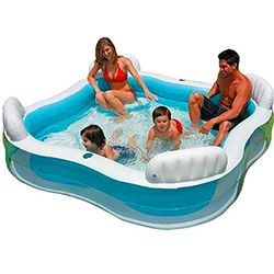 Piscine Familiale 4 Places Intex Lounge
