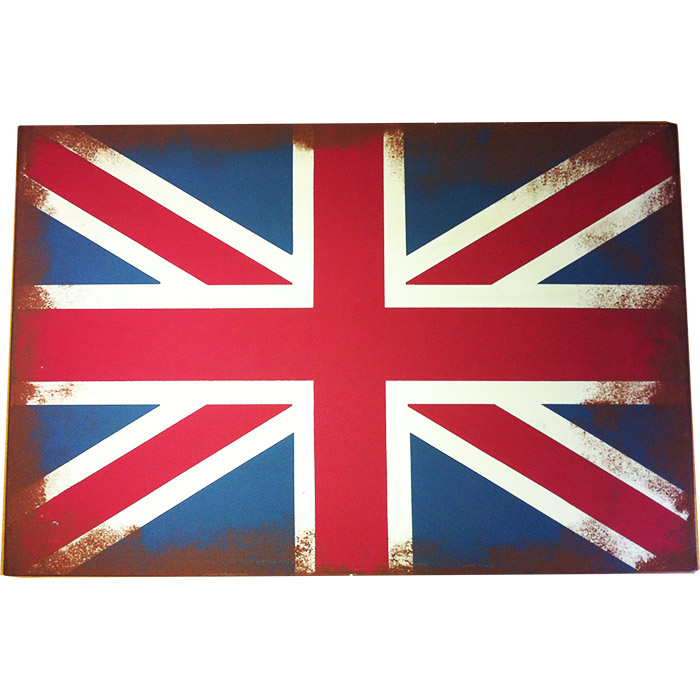 plaque m tal drapeau anglais grande bretagne angleterre 36 x 24 cm ebay. Black Bedroom Furniture Sets. Home Design Ideas