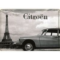 Plaque Métal Citroën DS 30x40 cm
