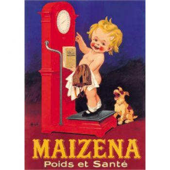 Plaque Métal Maïzena 30x40 cm