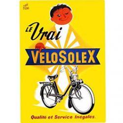 Plaque Métal Velosolex 30x40 cm