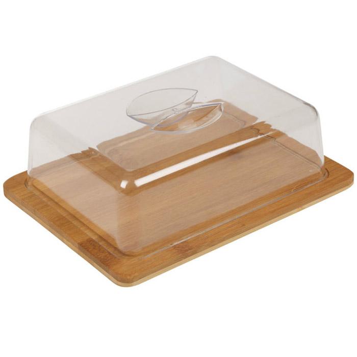 plateau cloche fromage en bambou format rectangulaire id al r fr girateur. Black Bedroom Furniture Sets. Home Design Ideas