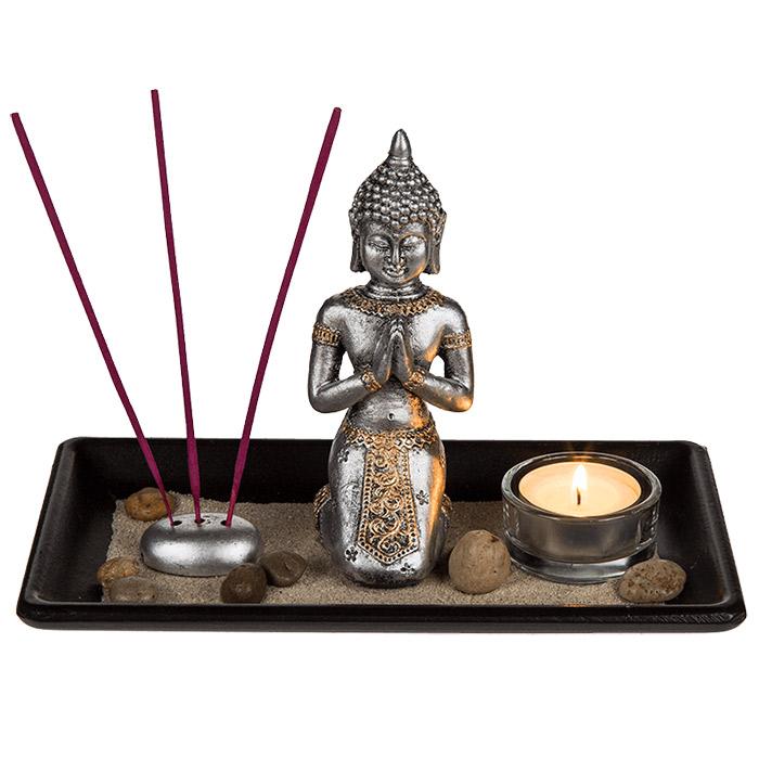 Plateau zen bouddha for Deco jardin zen bouddha