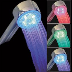 Pommeau de douche Lumineux  LED