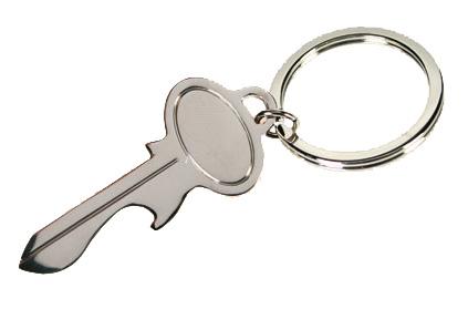 Clé Décapsuleur Clé - Porte clé décapsuleur