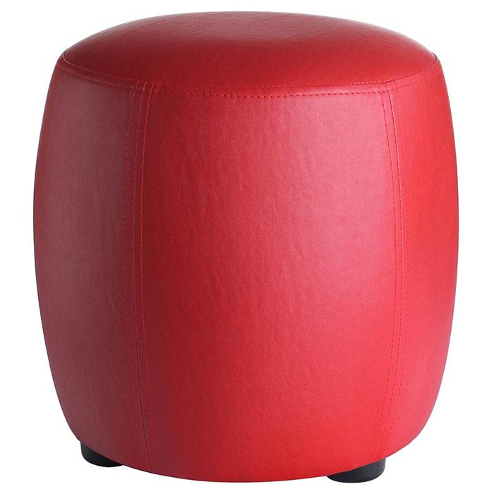 pour rond rouge disponible en plusieurs autres coloris. Black Bedroom Furniture Sets. Home Design Ideas