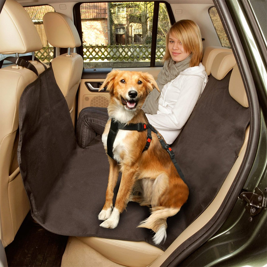 housse de protection voiture pour chien animalerie cadeaux maison. Black Bedroom Furniture Sets. Home Design Ideas