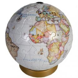 Puzzle 3D Globe