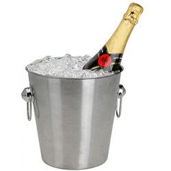 Seau à Champagne et Glace en Inox