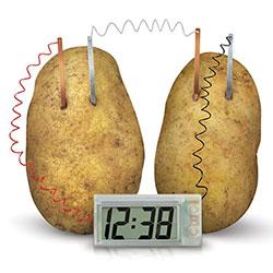 Horloge Pomme de Terre