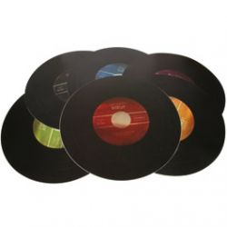 6 Sets de Table Vinyle Edition Collector