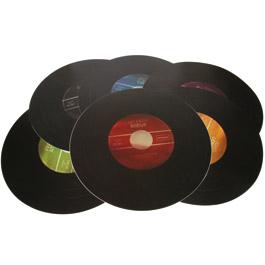 6 Sets de Table Vinyle Edition Collector