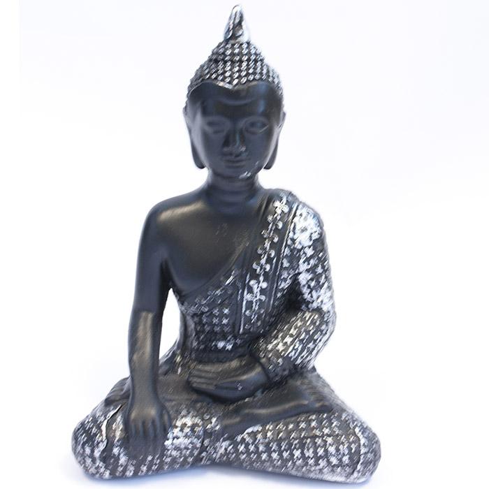 statuette bouddha en m ditation 20 cm. Black Bedroom Furniture Sets. Home Design Ideas