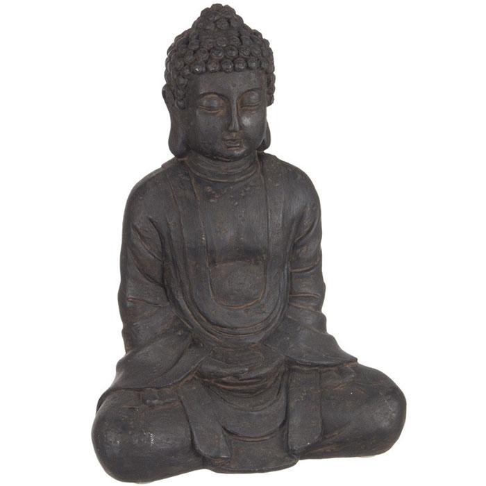 statue bouddha pour d coration int rieur 23 cm. Black Bedroom Furniture Sets. Home Design Ideas