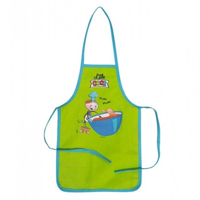 Tablier de cuisine pour enfant coloris disponibles - Tablier cuisine enfants ...