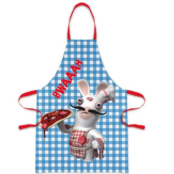 Tablier de cuisine lapin cr tins cuisinez dans le fun et - Tablier cuisine rigolo ...