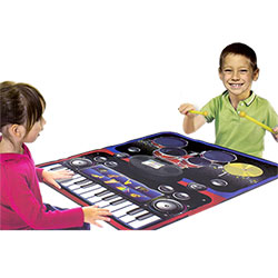 Tapis de Jeu Musical Batterie Piano