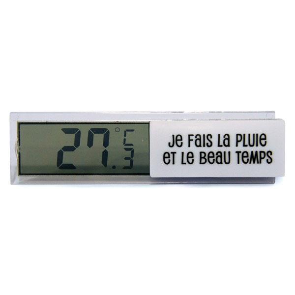 Thermom tre d 39 int rieur cadeaux high tech loisirs et jeux - Thermometre interieur precis ...