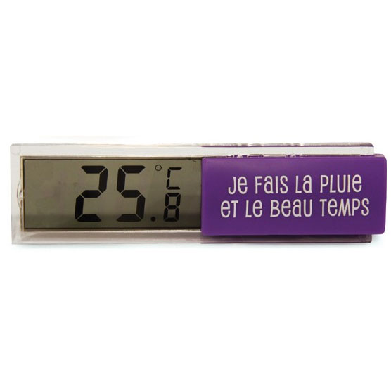 Thermometre d 39 int rieur - Thermometre cuisine darty ...